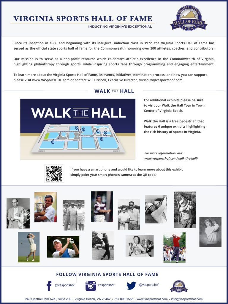 Kingsmill Virginia Sports Hall of Fame